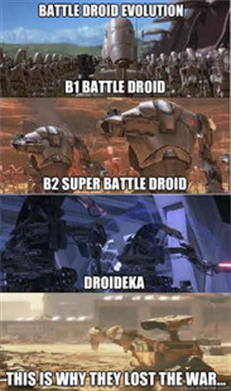 Droid Meme - reedmans battle droid evolution