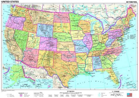 usa mapa fizyczna usa mapa polityczna fizyczna