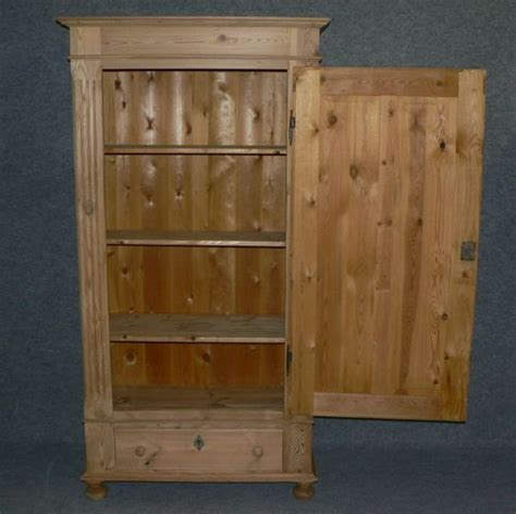 large cupboard with shelves large antique pine cupboard with shelves and a bottom