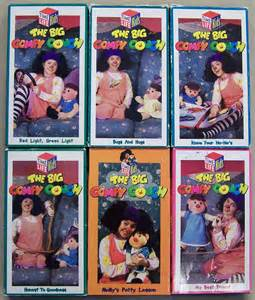 the big comfy time lot of 6 children s vhs