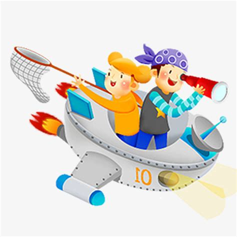 cartoon boat color color flying boat cartoon characters character color