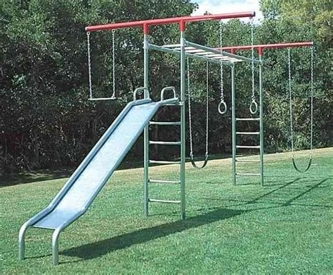 Backyard Monkey Bars by 25 Best Ideas About Metal Swing Sets On