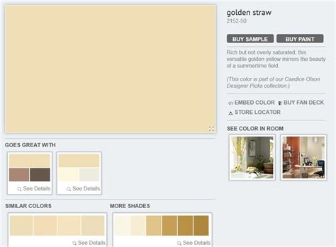 golden straw bm colors
