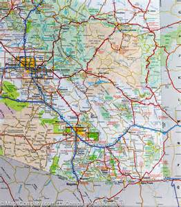 geographic map of arizona map of arizona national geographic mapscompany