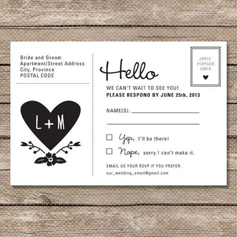 rsvp wording 101 wedding invitations