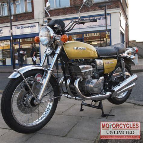 Vintage Suzuki Motorcycles For Sale 1974 Suzuki Gt550 L Vintage Suzuki For Sale Motorcycles