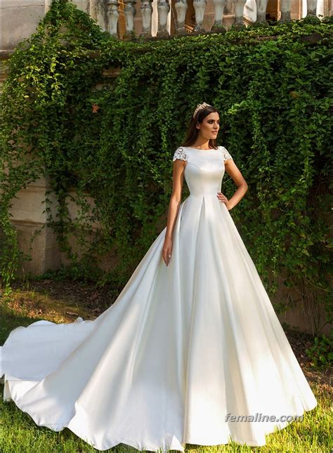 einfache brautkleider simple wedding dresses 2017 trends and ideas https