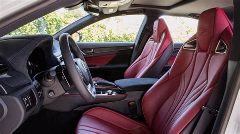 lexus gsf seats 2016 lexus gs f review test drive horsepower price and