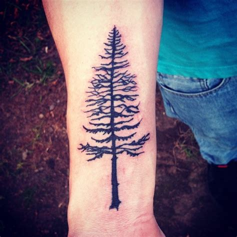 pine tree wrist tattoo 77 attractive tree wrist tattoos design