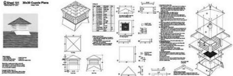 Roof Cupola Plans by Classic Roof Cupola Plans For Shed Garage Home 13030