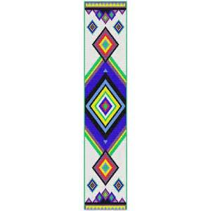 bead pattern navajo loom strip