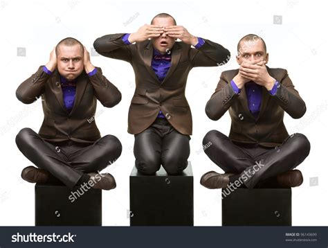 see no evil speak no evil hear no evil tattoo hear no evil see no evil stock photo 96143699