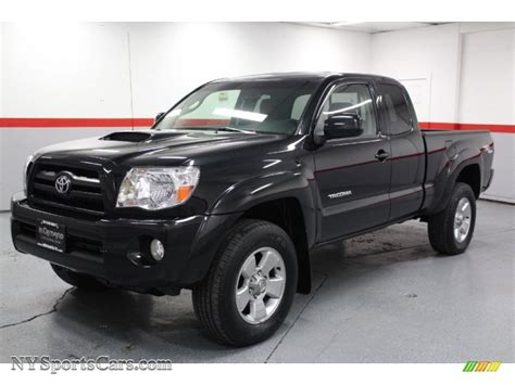 Toyota Tacoma V6 For Sale 2005 Toyota Tacoma V6 Trd Sport Access Cab 4x4 In Black