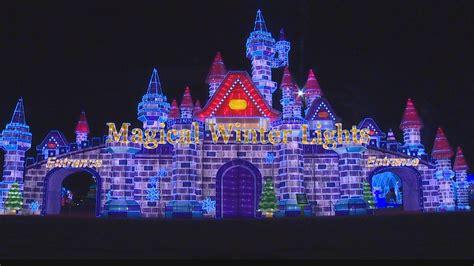 la marque christmas lights magical winter lights opens in la marque khou com