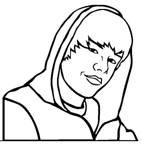 coloring pages to print of justin bieber justin bieber clip cliparts co