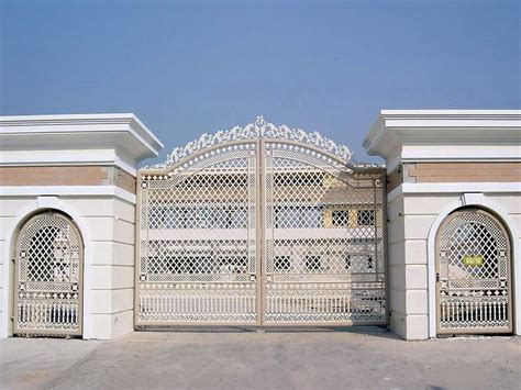 attractive exterior house gate design modern neo classic house gate
