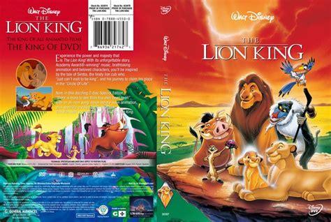 film lion hard the lion king 1994 us dvd cover dvd custom cover om