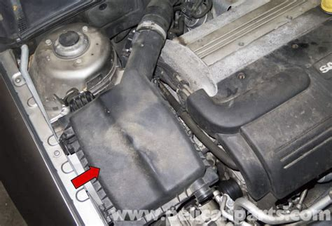 saab   air filter replacement   pelican