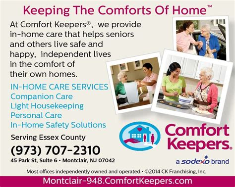 comfort keepers in home care 17 best images about comfort keepers essex county nj on