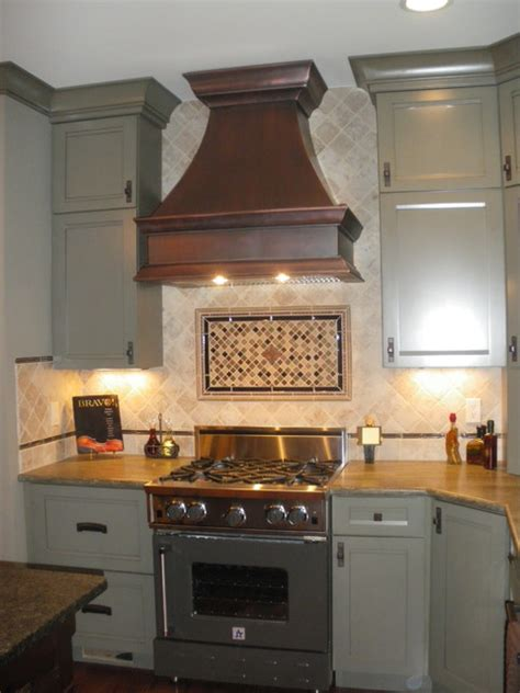 Copper range hoods traditional kitchen hoods and vents by