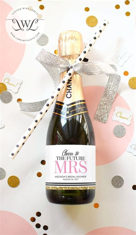 17 best ideas about bridal shower wine on