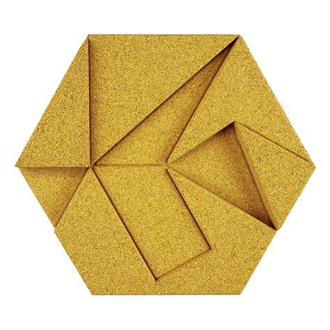 yellow hexagon pattern block organic blocks hexagon sustainable materials
