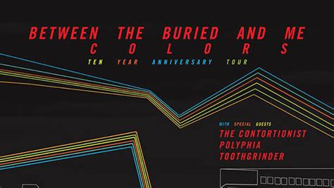 btbam colors between the buried and me colors 10 tour