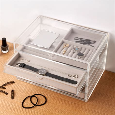 Acrylic Box muji welcome to the muji store