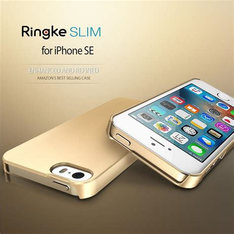 Rearth Ringke Slim Hardcase Iphone 6s Casing Cover Gold se 5s 5 rearth ringke slim end 7 20 2018 3 57 pm