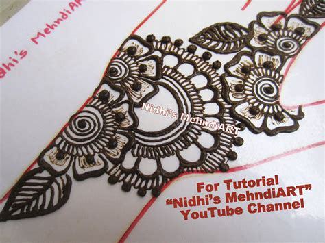 henna design tutorial arabic floral mehndi henna design collection with video