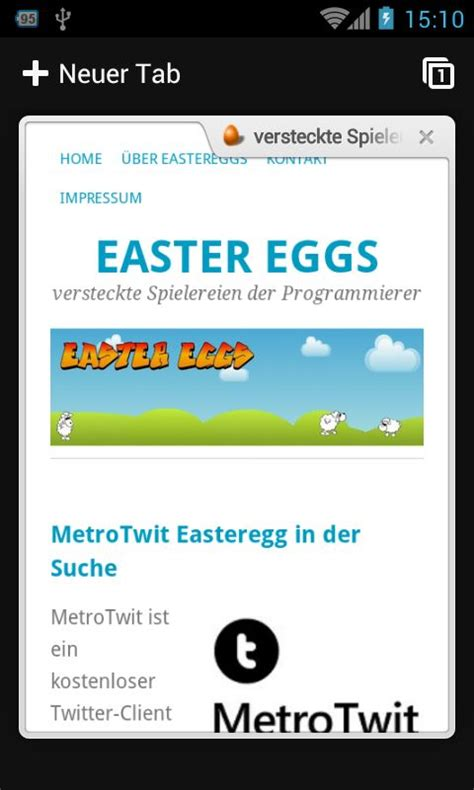 chrome browser for android easter eggs 187 animations easteregg im chrome browser f 252 r android
