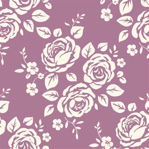 seamless retro pattern vector retro roses seamless patterns design vector 02 vector