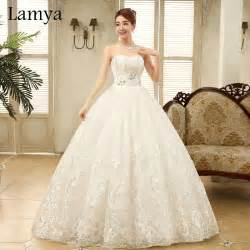 discount bridal gowns aliexpress buy real photo embroidery customized cheap discount wedding dress 2016 fashion