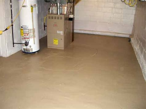 painted basement floor our house cellar 6