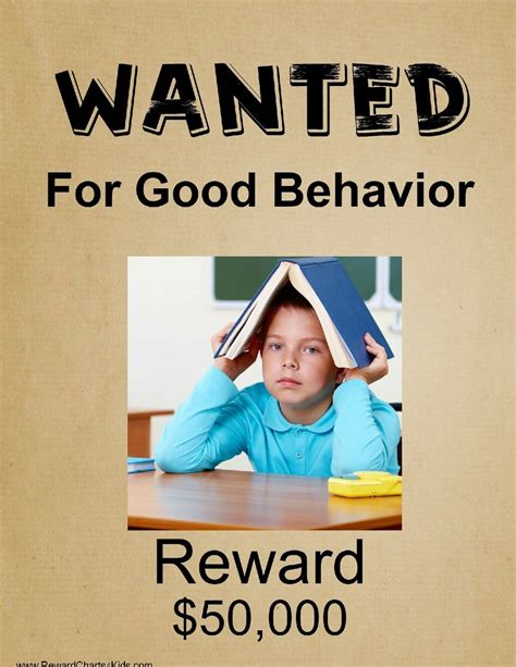 Free Printable Wanted Poster Template Chs Posters Templates