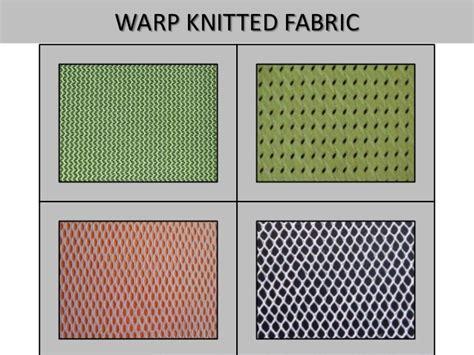 what is warp knitting warp knitting