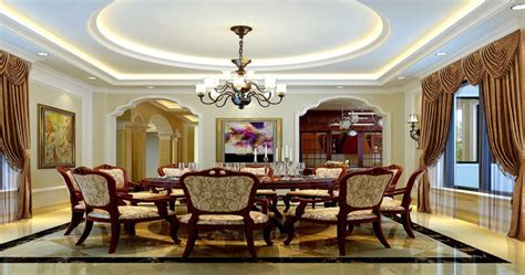 style dining room ceiling lights and arches