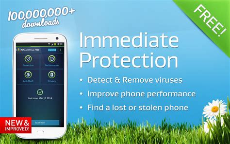 virus protection for android phone antivirus security free screenshot