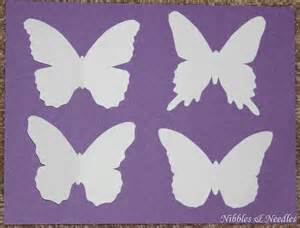 Butterfly Paper Cut Out Template by A Card For All Occasions 2 In 1 Butterfly Cut Out Cards