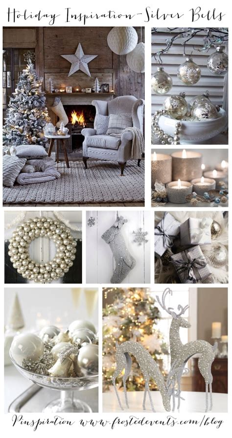 holiday inspiration silver bells decor and ideas for christmas