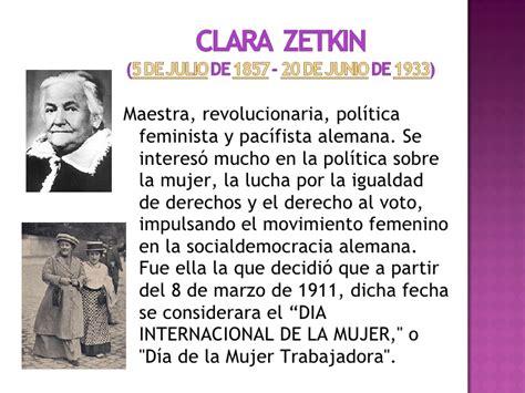 Resumen 8 De Marzo by Dia Internacional De La Mujer