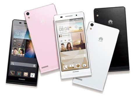 Hp Huawei Android Kamera Depan huawei ascend p6 android tertipis dengan kamera depan 5