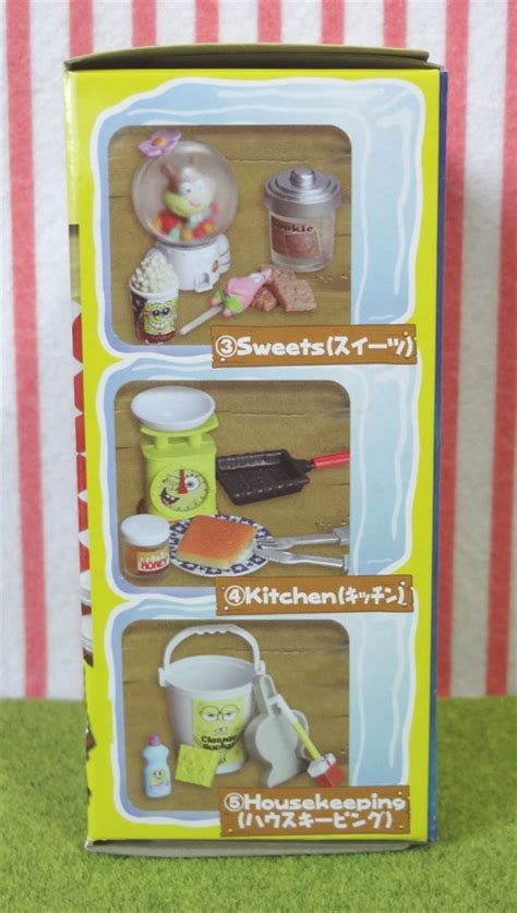 spongebob doll house japanese dollhouse miniatures toys all takara