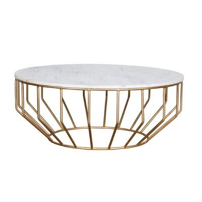 genuine marble gold coffee tables youll love
