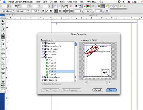 screen layout design software page layout software