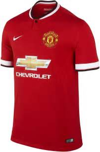 Manchester United Chevrolet Jersey Manchester United 14 15 Home Away And Third Kits Footy