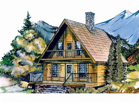 Plan 032h 0005 Find Unique House Plans Home Plans And Mountain Chalet House Plans