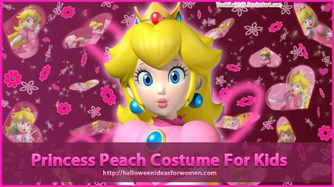 princess peach costume for kids perfect for battling