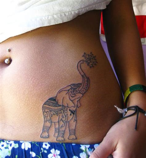 stomach tattoos for women lovely side stomach design for sheplanet
