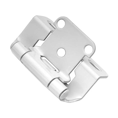 hickory hardware partial wrap 1 2 quot overlay hinge pair